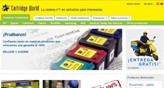 Nuestros servicios de Webs de Comercio Electrónico
